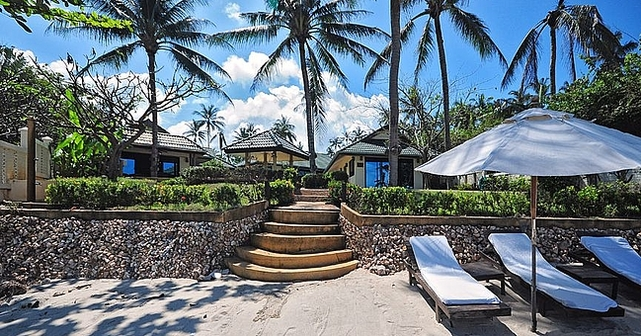 Beachfront Grand Villa